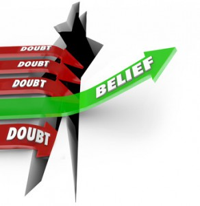 doubt vs. belief